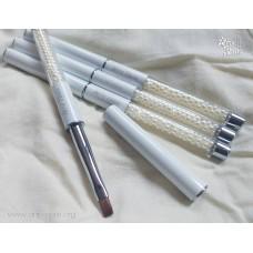 Arty Nails Kolinsky Applicator Brush with Crytall Nr. 6