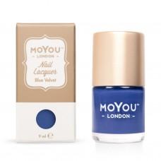 MoYou Blue Velvet lacquer 9 ml.